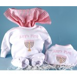 Baby's First Chanukah Personalized Baby Gift-girl