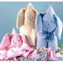 Hooded Bunny Baby Blankets