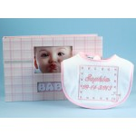 Keepsake Deluxe Photo Album & Personalized Bib