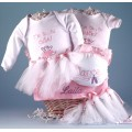 Little Ballerina Personalized Baby Gift Basket