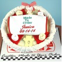 Made to Order-Personalized Pizza Baby Gift