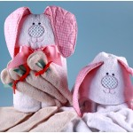Rabbit Hooded Towel Baby Gift