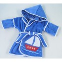 Sailboat Hooded Cover-Up Baby Gift