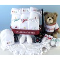 """Triplets"" Welcome Wagon Baby Gift"