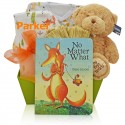 Baby Fox Gift Basket