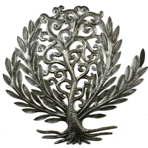 14 inch Tree of Life Laurel Leaf - Croix des Bouquets