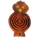 Handmade Wooden Night Owl Labyrinth - Matr Boomie