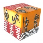 Hand Painted Candle - Cube - Damsi Design - Nobunto
