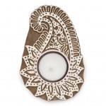 Aashiyana Tea Light Holder - Paisley - Matr Boomie (Candle)
