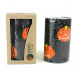 Hand Painted Candle - Single in Box - Halloween Design - Nobunto