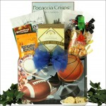 Armchair Athlete: Gourmet Sports & Snack Gift Basket