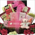 Courage, Hope & Strength: Breast Cancer Gift Basket