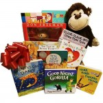 Charming Baby's First Library Gift Basket of Classic Board Books