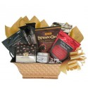 Thank You Gift Basket with Worldly Gourmet Coffees