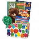 Boys and Girls Birthday Gift Basket for Ages 3 to 9