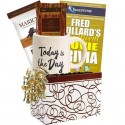 Today Is the Day Gift Basket with Paperback Book for Men and Women