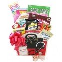Get Well Toolkit for Men and Women with Puzzle Books, Soup and Crackers