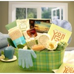 A Little Yoga & Green Tea Essentials Gift Set - Large