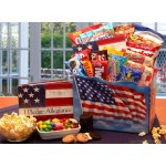 America The Beautiful Snack Gift Box - Medium