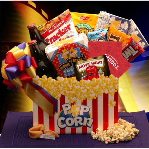Movie Madness Snack Gift Basket - Medium