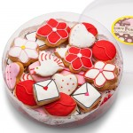 MINI SUGAR SHORTBREAD COOKIE ACETATE- LOTS OF LOVE ASSORTED