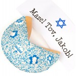 Bar Mitzvah Decorated Giant Fortune Cookie