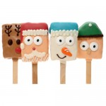 Christmas Crispy Characters- 4 pc ASSORTED