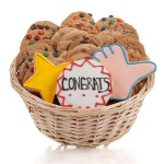 Congratulations Cookie Gift Basket