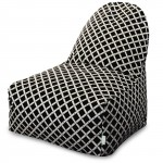 Black Bamboo Kick-It Chair - Indoor/Outdoor
