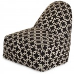 Black Links Kick-It Chair - Indoor/Outdoor