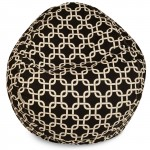 Black Links Small Classic Bean Bag - Indoor