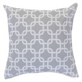 Gray Links Large Pillow - Indoor/Outdoor