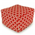 Red Links Large Ottoman - Indoor