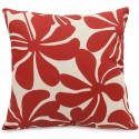 Red Plantation Large Pillow - Indoor/Outdoor