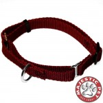 10in - 16in Martingale Burgundy, 10 - 45 lbs Dog By Majestic Pet Products