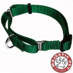 10in - 16in Martingale Green, 10 - 45 lbs Dog By Majestic Pet Products