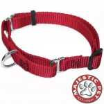 10in - 16in Martingale Red, 10 - 45 lbs Dog By Majestic Pet Products