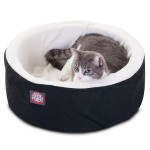 16 Black Cat Cuddler Pet Bed By Majestic Pet Products