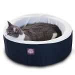 16 Blue Cat Cuddler Pet Bed By Majestic Pet Products