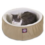 16 Khaki Cat Cuddler Pet Bed By Majestic Pet Products