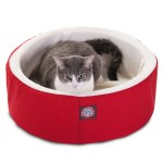 16 Red Cat Cuddler Pet Bed By Majestic Pet Products