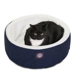 20 Blue Cat Cuddler Pet Bed By Majestic Pet Products