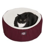 20 Burgundy Cat Cuddler Pet Bed By Majestic Pet Products
