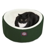 20 Green Cat Cuddler Pet Bed By Majestic Pet Products