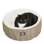 20 Khaki Cat Cuddler Pet Bed By Majestic Pet Products