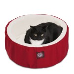 20 Red Cat Cuddler Pet Bed By Majestic Pet Products