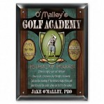 Personalized Golf Academy Sign - 3