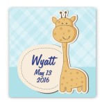 Baby Nursery Canvas Sign - Baby Nursery Canvas Sign - Baby Giraffe