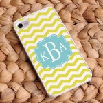 Chevron iPhone Cases - Breezy Sunshine Chevron iPhone Case