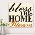 Blessing of the Home Family Canvas Print